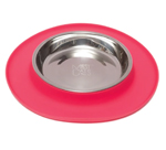 Messy Mutts Cat Feeder Silicone Red