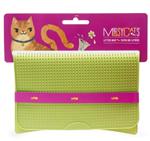 Messy Mutts Cat Litter Mat Green