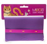 Messy Mutts Cat Litter Mat Purple