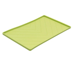 Messy Mutts Dog Silicone Mat Metal Rods Green Medium