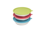 Messy Mutts Dog Bowl & Lid Set 1.5 Cup 6 Pack