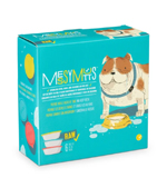 Messy Mutts Dog Bowl & Lid Set 6 Cup 6 Pack