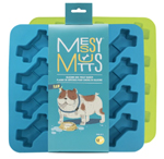 Messy Mutts Dog Bone Treat Maker Silicone 2 Pack