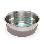 Messy Mutts Dog Bowl Stainless Steel Nonslip Bottom Small