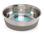 Messy Mutts Dog Bowl Stainless Steel Nonslip Bottom Large