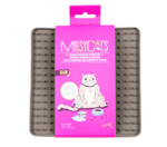 Messy Mutts Cat Silicone Interactive Feeding Mat Grey