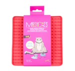 Messy Mutts Cat Silicone Interactive Feeding Mat Watermelon
