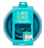 Messy Mutts Dog Slow Feeder Blue 3 Cups