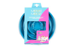Messy Mutts Dog Cat Slow Feeder Blue 1.75 Cups