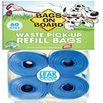 Bags on Board Bag Refill Pack 60ct