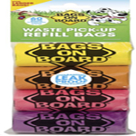 Bags on Board Rainbow Bag Refill Pack 60ct