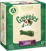 GREENIES Original Large Dog Dental Chews - 27 Ounces 17 Treats