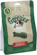 GREENIES Original Regular Size Dog Dental Chews - 12 Ounces 12 Treats