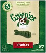 GREENIES Original Regular Size Dog Dental Chews - 27 Ounces 27 Treats
