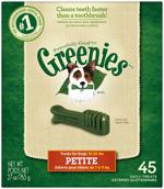 GREENIES Original Petite Dog Dental Chews - 27 Ounces 45 Treats