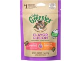 Feline Greenies Flavor Fusion Dental Treats For Cats Salmon And Chicken Flavors 2.5 Oz.