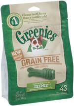 Greenies Grain-Free Teenie Dog Dental Chews - 12 Ounces 43 Treats