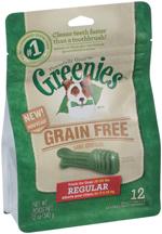 GREENIES Grain-free Regular Size Dog Dental Chews - 12 Ounces 12 Treats
