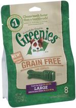 Greenies Grain-Free Large Dog Dental Chews - 12 Ounces 8 Treats