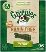 GREENIES Grain-free TEENIE Dog Dental Chews - 27 Ounces 96 Treats