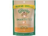 FELINE GREENIES SMARTBITES Hairball Control Chicken Flavor Treats for Cats 4.6 Ounces