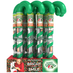 GREENIES Dental Chews PETITE Treats for Dogs - Candy Cane Tube - 3.6 oz. 6 Treats (case of 12)