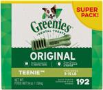 Greenies Original Dog Dental Treat 1ea/54 oz, 192 ct, Teenie