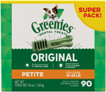Greenies Original Dog Dental Treat 1ea/54 oz, 90 ct, Petite