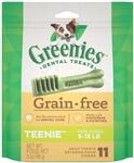 Greenies Grain Free Dental Dog Treat Entry Level Teenie 3Oz