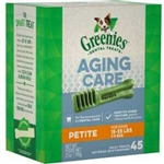 Greenies Complete Aging Care Dental Treat Petite 27Oz