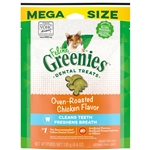Greenies FELINE Cat Dental Treat Oven Roasted Chicken Flavor 1ea/4.6 oz
