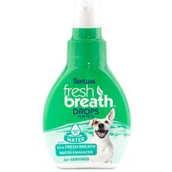 TropiClean Fresh Breath Oral Care Water Additive for Dogs 1ea/2.2 fl oz