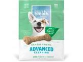 Fresh Breath by TropiClean Dental Chew Advanced Dog Treat 25+lbs Regular 10pc