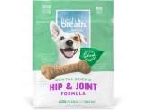 Fresh Breath by TropiClean Dental Chew Hip & Joint Dog Treat 25+lbs Regular 10pc