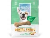 TropiClean Fresh Breath Peanut Butter Dental Chews for Dogs 1ea/11 oz, 20 ct, Small