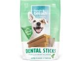 Fresh Breath by TropiClean Dental Stick Dog Treat 25+lbs Regular 8pc