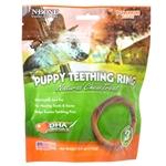 N-Bone Puppy Teething Ring Pumpkin Flavor 3 Pack