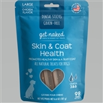 Get Naked Dog Grain-Free Skin And Coat Large 6.6 Oz.
