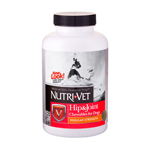 Nutri-Vet Hip & Joint Early Care Liver Chewables 1ea/120 Tablets
