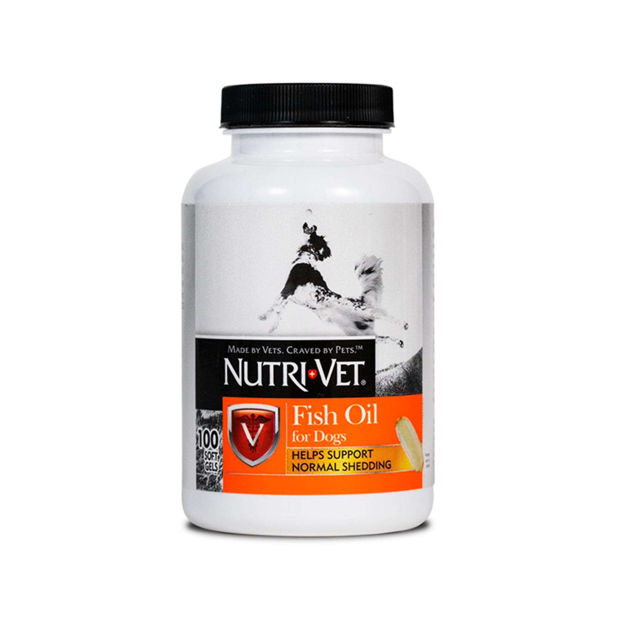 Nutri-Vet Fish Oil Softgels, 100 ct