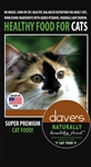 Daves Naturally Healthy Adult Cat Food 8 lbs