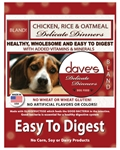 Daves Delicate Dinners (Easy to Digest) Chicken Meal, Rice & Oatmeal 4lbs