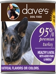 Daves Premium Turkey 95% Meat  Pack Of 12