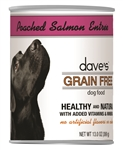 Daves Grain Free, Poached Salmon Entree  Pack Of 12