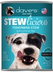 Daves Naturally Healthy Shredded Fishermans Stew Case Of 24