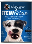 Daves Stewlicious Meaty Beefy Stew Case of 12