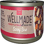 Cloud Star WellMade Homestyle Meals Savory Stew With Beef Recipe Grain-Free Canned Dog Food 3.5oz
