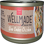 Cloud Star WellMade Homestyle Meals Slow Cooker Chicken Recipe Grain-Free Canned Dog Food 3.5oz