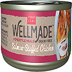 Cloud Star WellMade Homestyle Meals Salmon-Stuffed Chicken Recipe Grain-Free Canned Dog Food 3.5oz