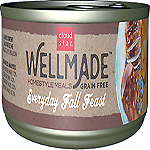 Cloud Star WellMade Homestyle Meals Everyday Fall Feast With Turkey Recipe Grain-Free Canned Dog Food 3.5oz